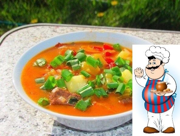 Бограч  венгерский суп