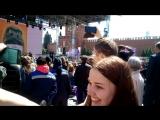 Концерт на Красной площади.Поёт Валерий Сюткин.