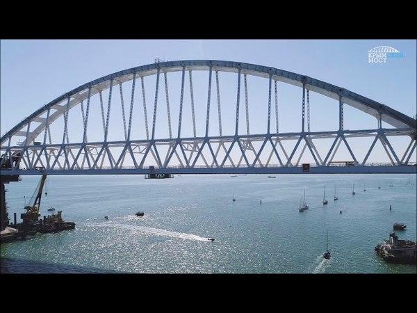 Голубицкие казаки тестируют трассу на Крымский мост..