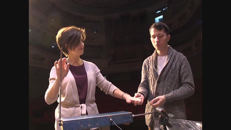 Жители Йошкар-Олы смогли услышать космические звуки терменвокса со сцены театра Эрика Сапаева