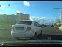 Очередной долбоеб за рулем Такси Совпадение не думаю АХ 3137 АН на Chevrolet Aveo