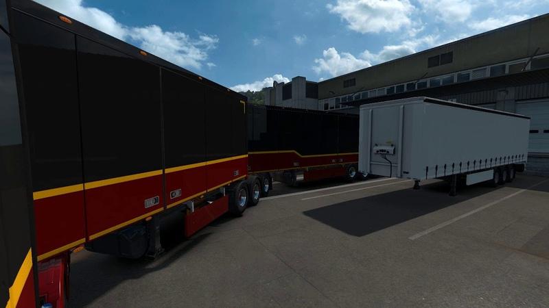 ETS2 Parking b-double - Renar Logistik