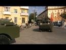 Бронепробег в Смоленске
