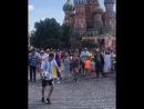 Финты на Красной Площади во время ЧМ 2018