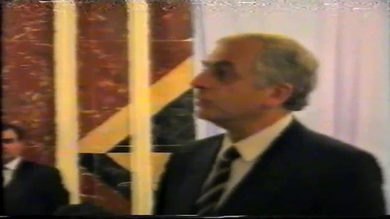 Политический тост Звиада Гамсахурдия , г.Грозный 1993 год. Мой президент.