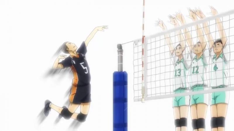 Аниме волейбол