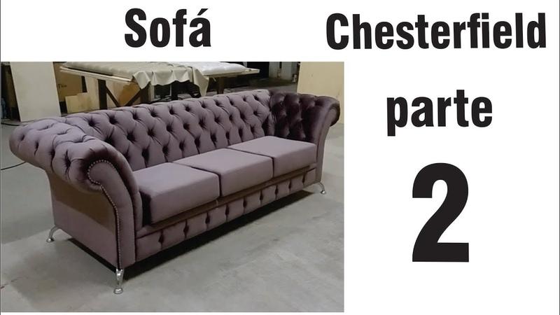 Fabricando um sofá Chesterfield (parte 2)