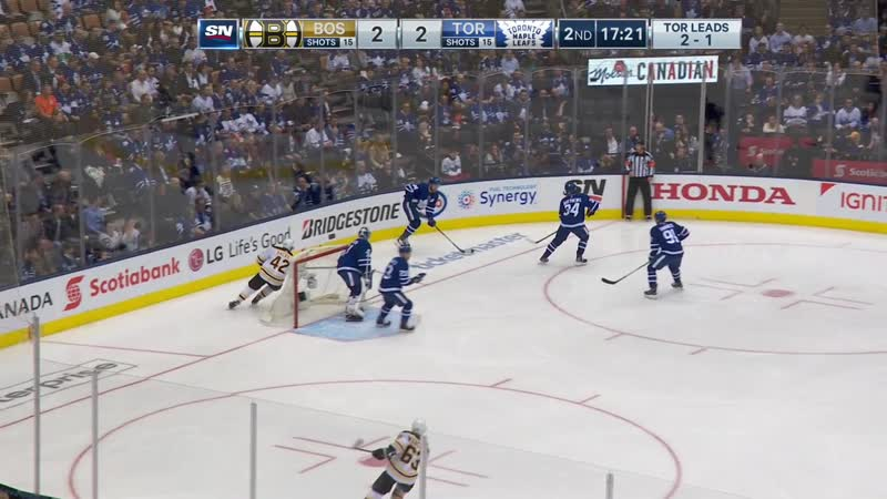 BOS@TOR | 17.04.2019 | Round 1 | Game 4 | NHL Stanley Cup Playoff 2018-2019