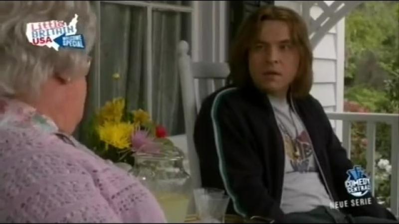 Little Britain USA - Oma spricht mit ihrem Enkel über Drogen (Low).mp4