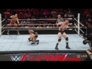 Randy Orton Cesaro vs. Sheamus Kevin Owens: Raw, Aug. 17, 2015