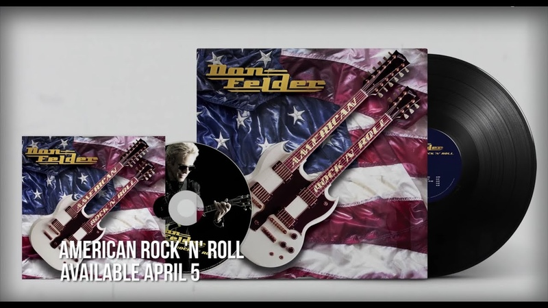 Don Felder American Rock 'N' Roll New Album Out April 5 2019
