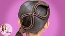 TRENZA INFINITA Peinados Fáciles Para Niñas