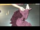 Бархатное платье,подготовка к примерке, юбка, боковой шов.