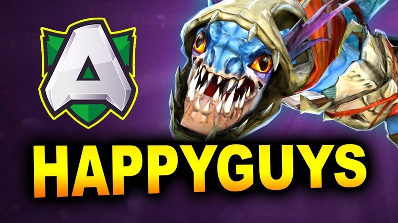 ALLIANCE vs HAPPY GUYS - syndereN Stack - I Can't Believe It's Not Summit! - DOTA 2