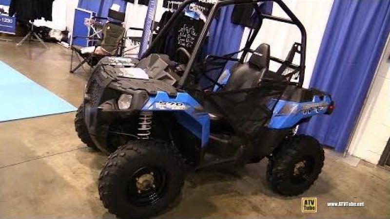 2016 Polaris ACE 570 Recreational ATV - Walkaround - 2017 Toronto Snowmobile ATV Show