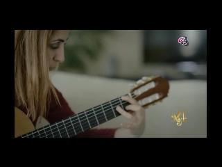 Dina BK - Pro Guitarist - Tv Program on Abudhabi 2018