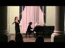 J.S.Bach Sonata h-moll for flute and piano 1 part Irina Stachinskaya