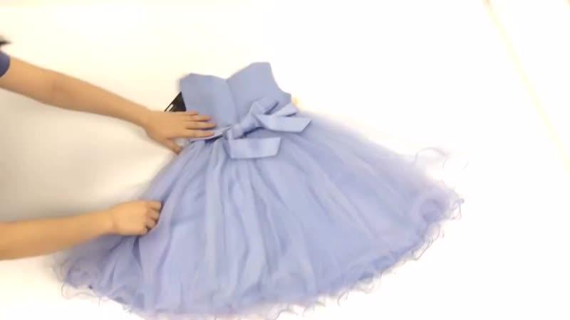 Пышное платье для девочек с Aliexpress