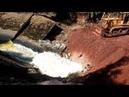 Река Калья уходит под землю Новости Североуральска