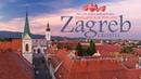 Zagreb - The city with a million hearts. Timelapse Hyperlapse