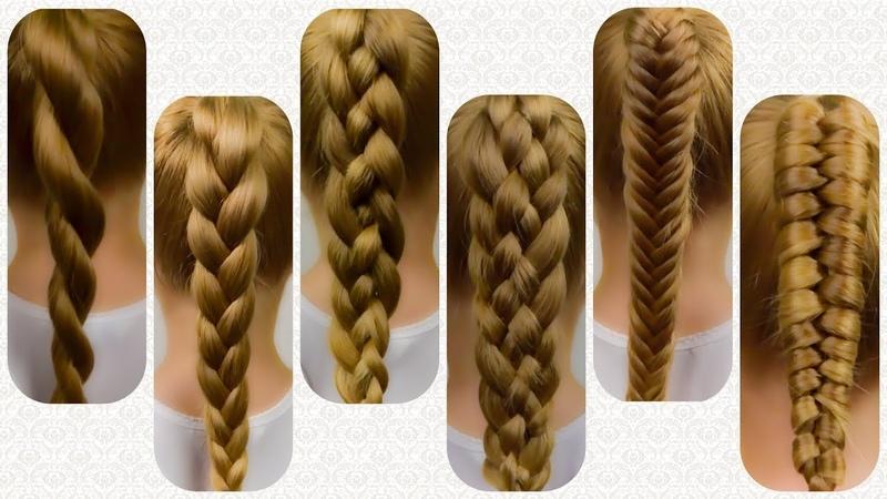 6 BASIC BRAIDS   HOW TO BRAID FOR BEGINNERS! Braid Tutorial on Natural hair 1