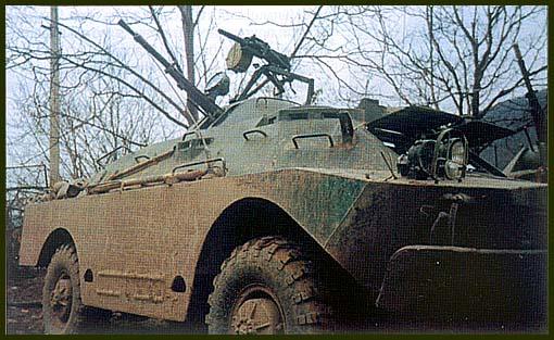 С автоматическим гранатометом АГС на башне БРДМ-2 превратилась в машину огневой поддержки разведбата