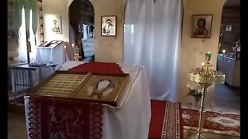 Молебен свв князьям БОРИСУ И ГЛЕБУ Российским чудотворцам 15 мая 2018 г