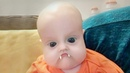 Funny Baby Playing with Snapchat Filters - Funny Fails Baby Video