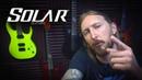 Приглашение Ola Englund на презентацию Solar guitars