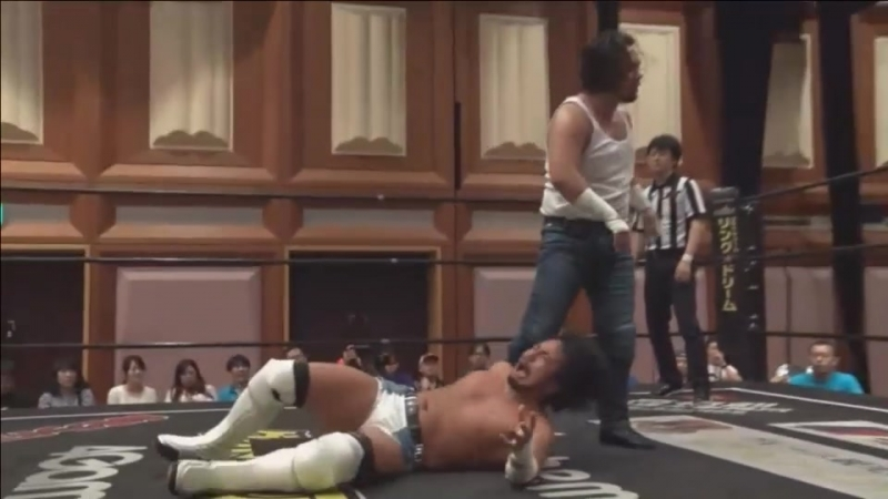 Ken Ohka vs Yumehito Imanari Ganbare Wrestling Taiyo No Season 2018
