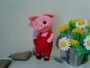 Чудесный поросенок ч 1 A wonderful pig р 1 Amigurumi Crochet Амигуруми Игрушки крючком