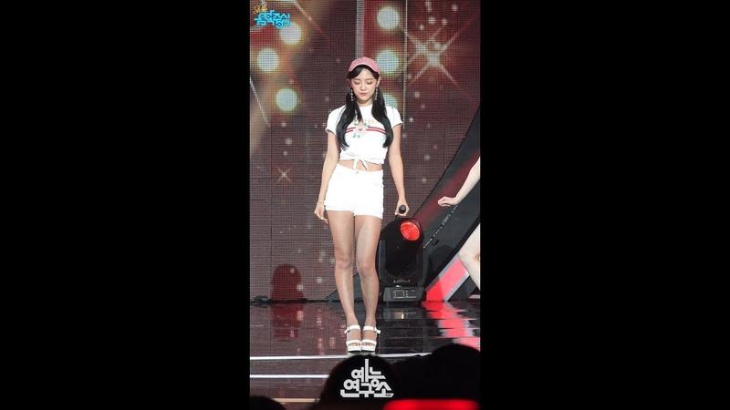 [예능연구소 직캠] 구구단 세미나 루비 하트 세정 Focused @쇼!음악중심_20180714 Ruby Heart gugudan SEMINA SEJE