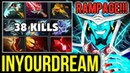 Inyourdream Rampage Storm Spirit - Super Crazy Game Full Slotted Dota 2