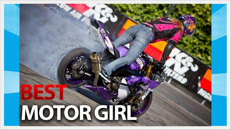 CRAZY GIRL DOES MOTORCYCLE STUNT, EPIC MOTORCYCLE STUNT PART 01 Bibilintix