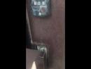 Попал в подъезд с помощью кода домофон Vizit BVD-313