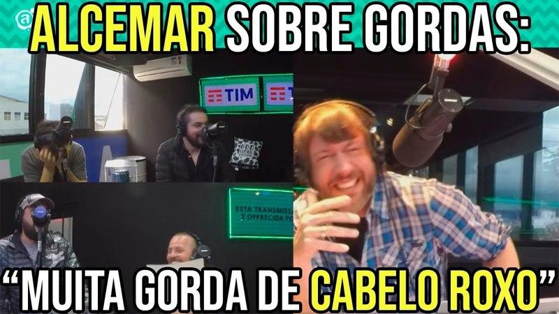 ALCEMAR SOBRE GORDAS MUITA GORDA DE CABELO ROXO