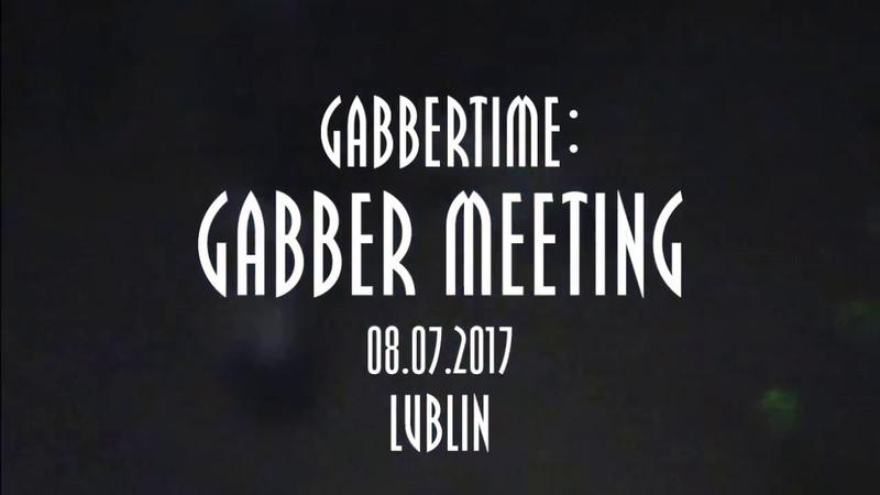 Gabbertime: Gabber Meeting Aftermovie