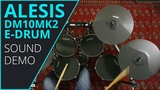 Alesis DM10Mk2 E-Drum Sound Demo 8 (no talking)