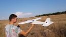 Первый запуск самодельного самолёта. Тестируем.