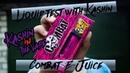 Тест жидкости с Кашином 101/Liquid test with Kashin/ Жидкость Combat E-Juice