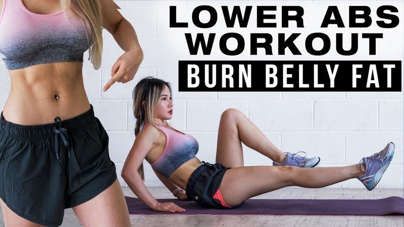 Chloe Ting - 10 Min Lower Abs Workout | Тренировка от нижнего животика