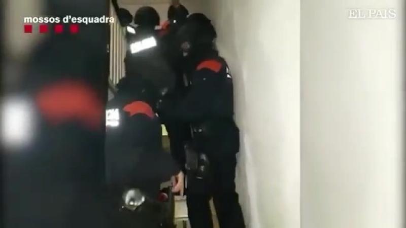 Захват албанской банды ограбившей дом Луиса Суареса