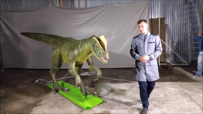 Робозавр: шестиметровый аниматроник представлен в Перми