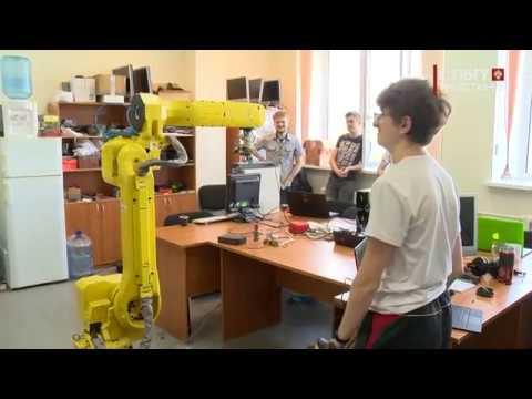 Новости СПбГУ: Как рождаются роботы