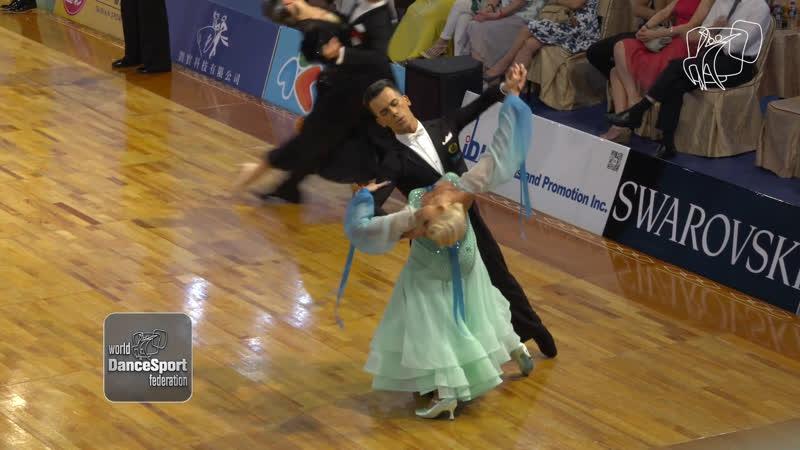 Bosco - Nolan, IRL ¦ 2018 GS STD Taipei City ¦ R2 SF ¦ DanceSport Total