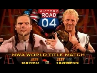 TNA Victory Road '04 Jeff Jarrett vs Jeff Hardy highlights