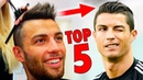 TOP 5 Cristiano Ronaldo Hairstyles Best Football Players Haircuts