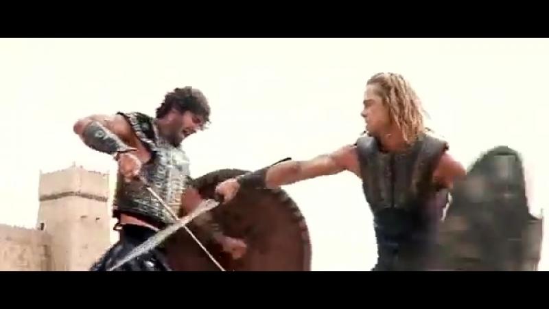 Поединок между Гектором и Ахиллесом mp4