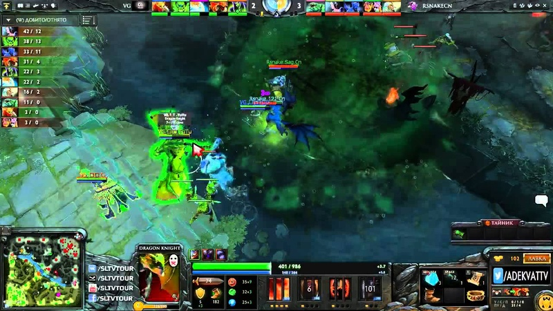 VG vs RattleSnake, WPC-Ace League, Week 6 Day 5, game 2