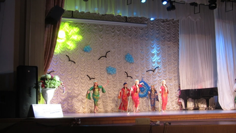 Коллектив восточного танца Gadar Студия Ритм Саиди Тренер Гурина Е